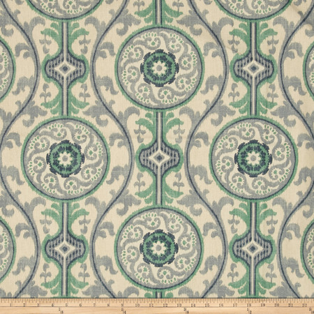 Magnolia Home Fashions Oh Suzanni ll Ocean Fabric By The Yard