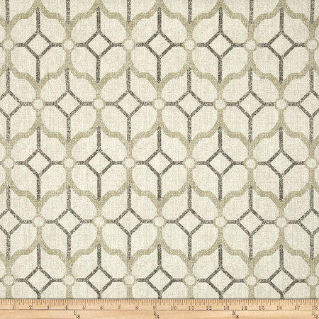 Magnolia Home Fashions Rockaway Pewter Fabric By The Yard