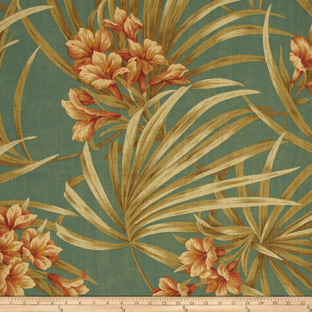 Magnolia Home Fashions St Thomas Tropic Fabric By The Yard