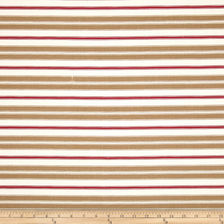 Magnolia Home Hampton Stripe Rye Fabric