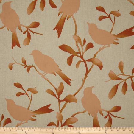 Magnolia Home Rockin' Robin Coral Fabric