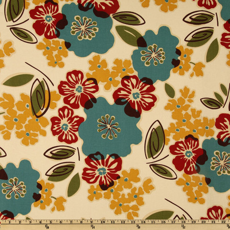 Magnolia Home Fashions Sidney Tropic Fabric By The Yard