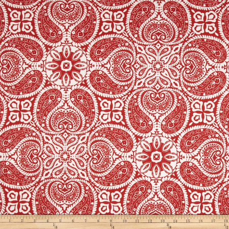 Magnolia Home Tibi Cayenne Red Fabric