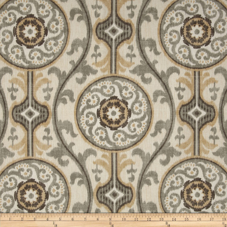 Magnolia Home Fashions Oh Suzanni Metal Fabric By The Yard
