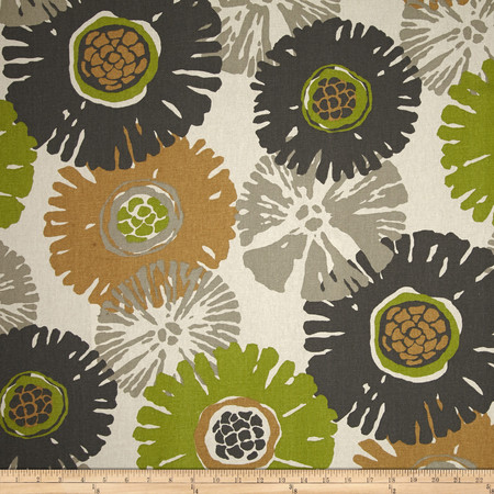 Magnolia Home Fashions Starburst Slate Fabric By The Yard
