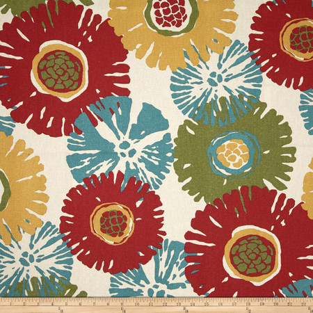 Magnolia Home Fashions Starburst Tropic Fabric By The Yard
