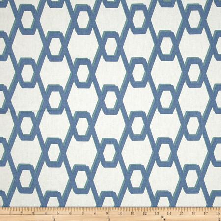 Magnolia Wired Ocean Fabric