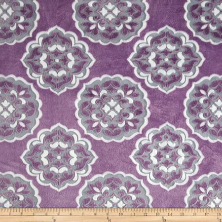 Mar Bella Minky Barcelona Violetta Fabric By The Yard