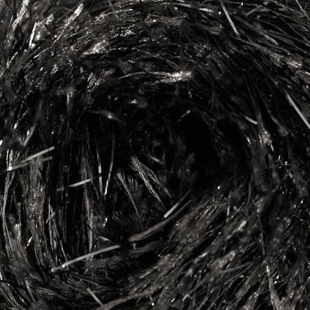Martha Stewart Glitter Eyelash Yarn (553) Onyx