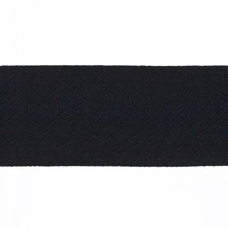 May Arts 1 1/2'' Twill Ribbon Spool Black