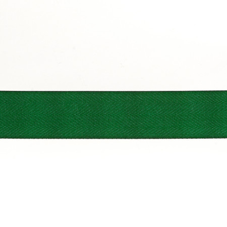 May Arts 1 1/2'' Twill Ribbon Spool Green