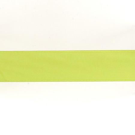 May Arts 1 1/2''  Double Sided Satin Ribbon Spool Celery