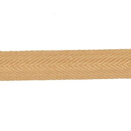 May Arts 3/4'' Twill Ribbon Spool Natural