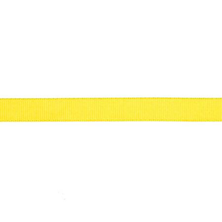 May Arts 3/8'' Grosgrain Ribbon Spool Yellow