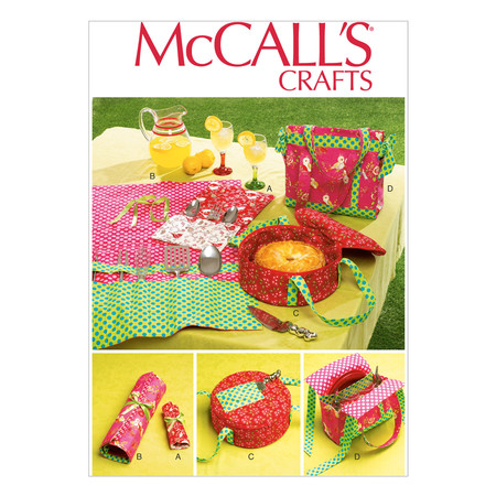 McCall's Camping Items Pattern M6974 Size OSZ