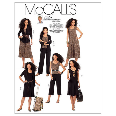 McCall's Misses' Jackets Top Dresses and Pants In 2 Lengths Pattern M5890 Size A50