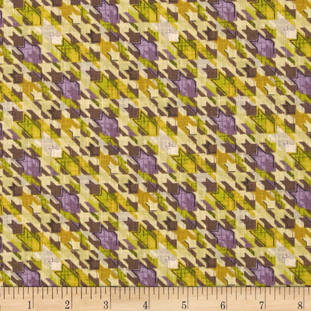 Meadowlark Abstract Stars Orchid Fabric