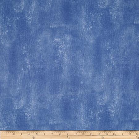 Meadowlark Texture Blue Fabric