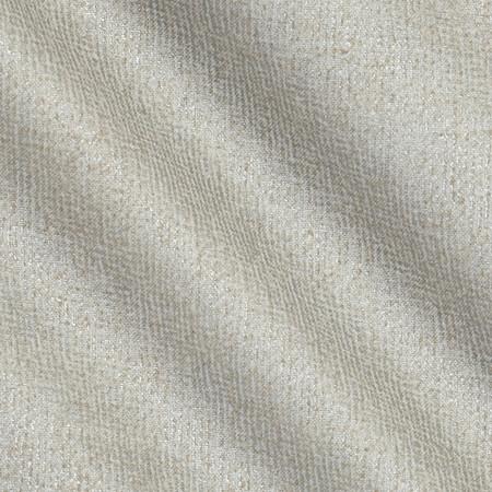 Metallic Burlap Texture Refined Silver Fabric