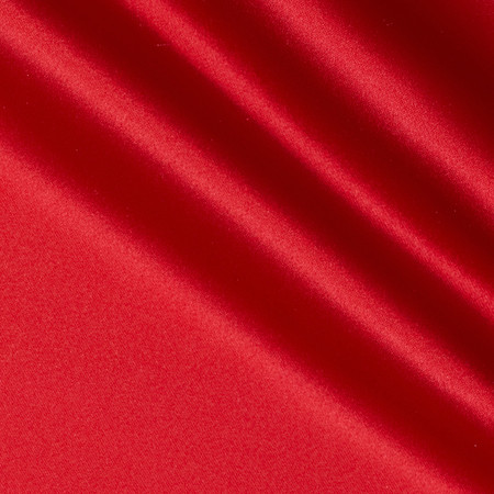 Mi Amor Duchess Satin Red Fabric By The Yard