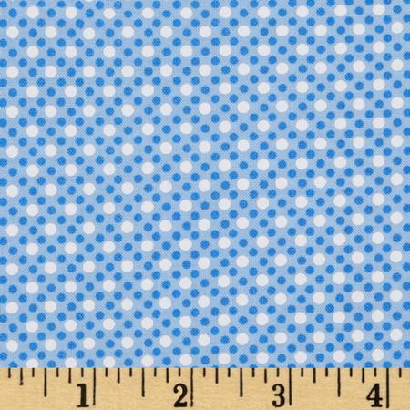 Michael Miller Dim Dots Sailor Fabric