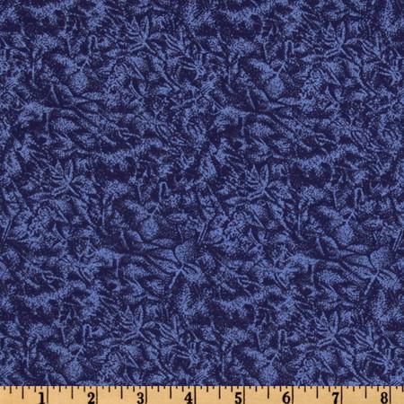 Michael Miller Fairy Frost Indigo Fabric