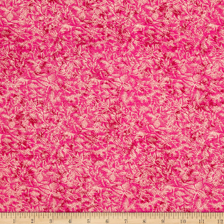 Michael Miller Fairy Frost Raspberry Fabric