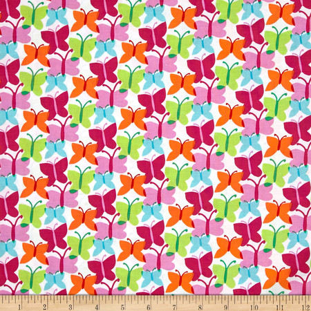 Michael Miller Funfair Fluttery Fresh Fabric By The Yard
