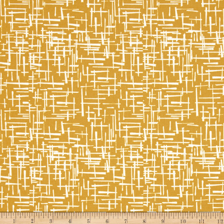 Michael Miller House of Hoppington Haystack Gold Fabric By The Yard