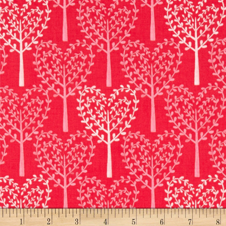 Michael Miller Nature Walk Friendly Forest Azalea Fabric By The Yard