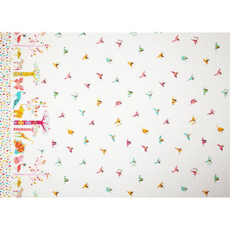 Michael Miller Origami Oasis Oasis Border Candy Fabric