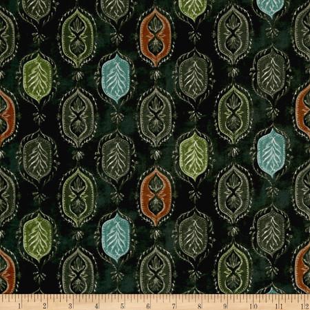 Michael Miller Serafina Angelina Hunter Fabric By The Yard