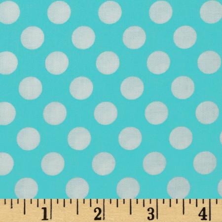 Michael Miller Ta Dot Ocean Fabric