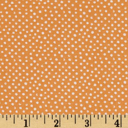 Mini Confetti Dot Canteloupe Fabric