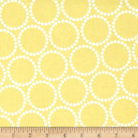 Mini Pearl Bracelets Citron Fabric By The Yard