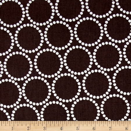 Mini Pearl Bracelets Dark Chocolate Fabric By The Yard