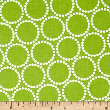 Mini Pearl Bracelets Key Lime Fabric By The Yard