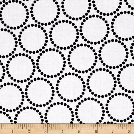 Mini Pearl Bracelets Licorice Fabric By The Yard
