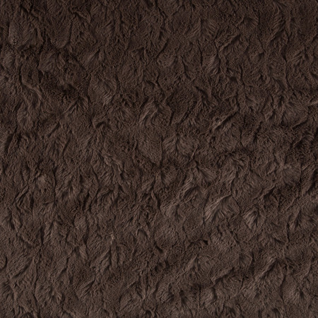 Minky Bella Snuggle Charcoal Fabric