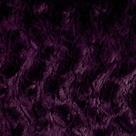 Minky Bella Snuggle Plum Fabric By The Yard