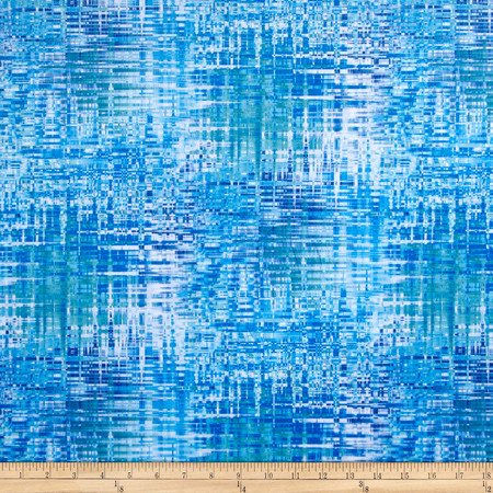 Minky Inception Blue Fabric By The Yard
