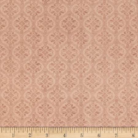 Mirabelle Brocade Tan Fabric By The Yard