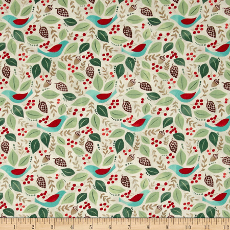 Moda Evergreen Good Will Marshmallow Fabric