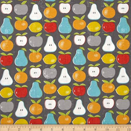 Moda Garden Project Mixed Fruit Stone Fabric