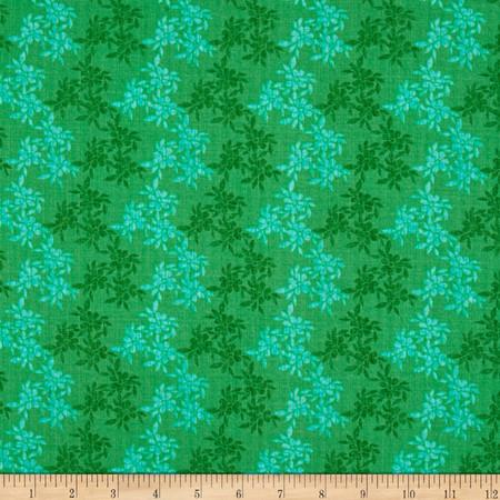 Moda Good Karma Bella Donna Green Fabric