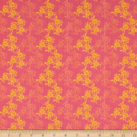 Moda Good Karma Bella Donna Pink Fabric