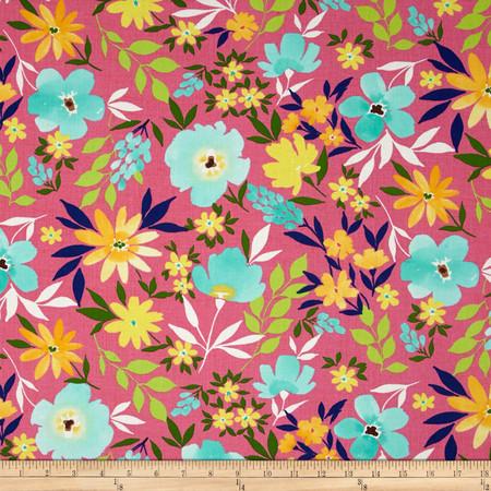 Moda Good Karma Possibility Pink Fabric