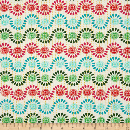 Moda Good Karma Rhythm Garden Fabric