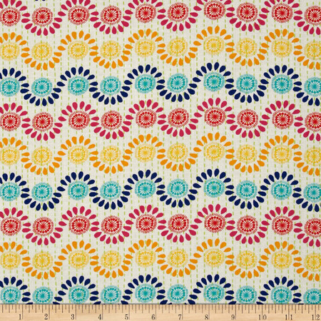 Moda Good Karma Rhythm Rainbow Fabric
