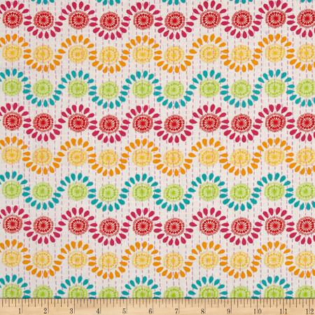 Moda Good Karma Rhythm Sunny Fabric